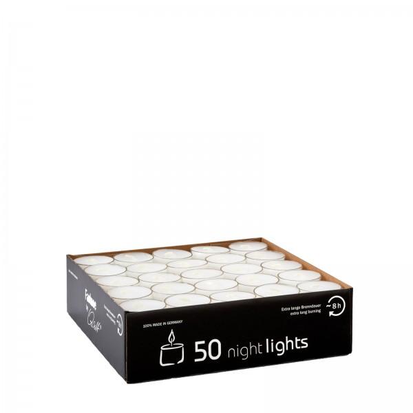 Nightlights Teelichte by Qult 50 Stk.