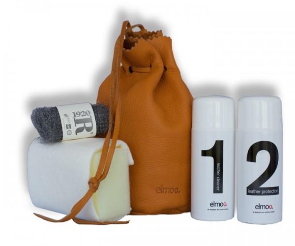 Draenert empfiehlt das elmo Lederpflegeset