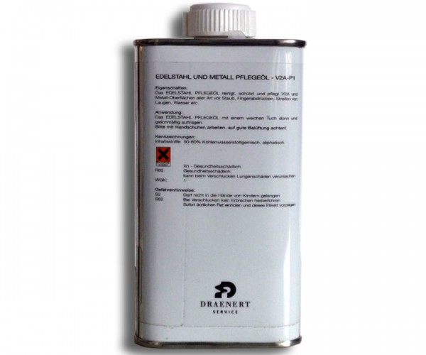 Draenert V2A und Metallpflegeöl